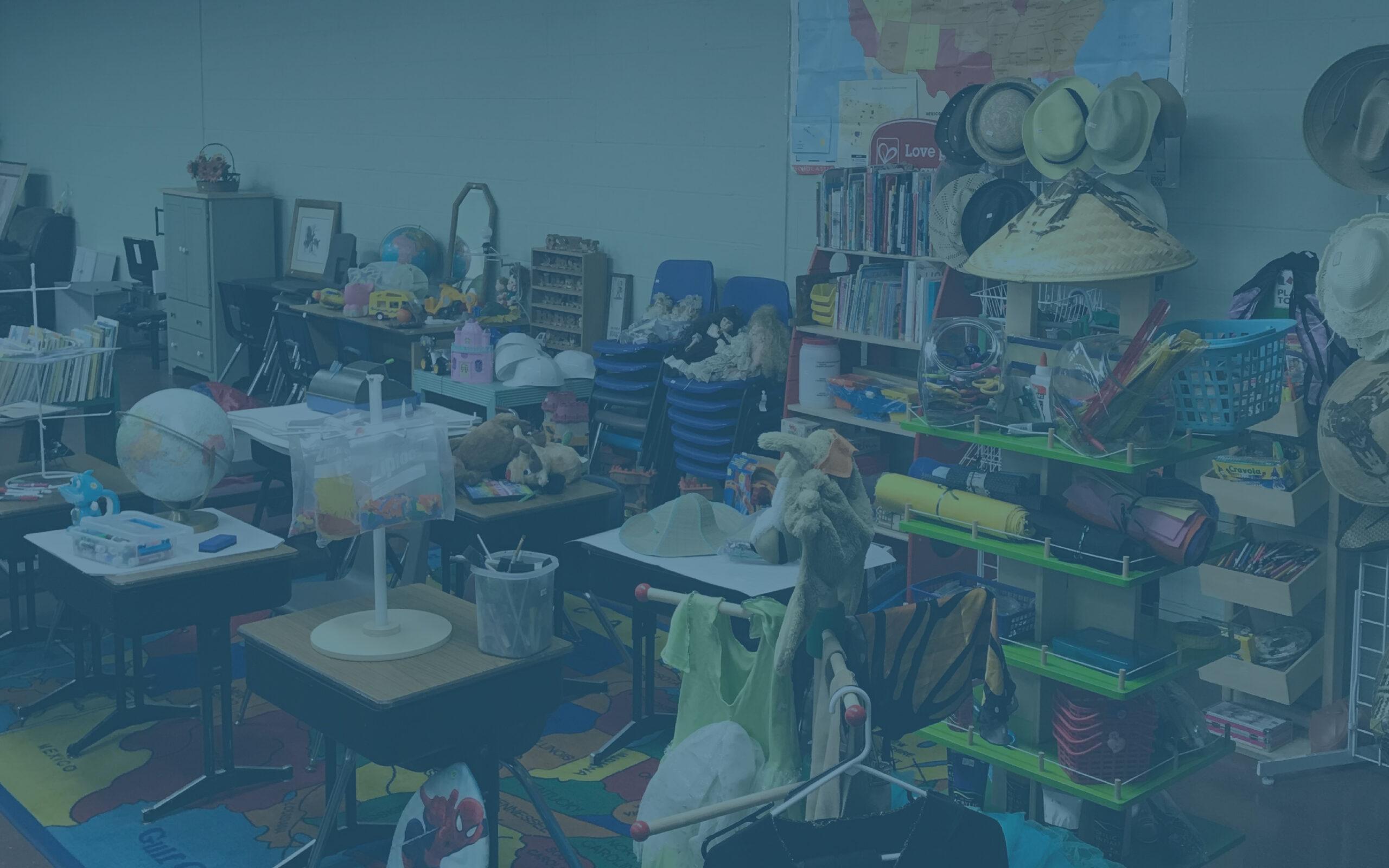 Blog banner for back to school kaleva resale shop